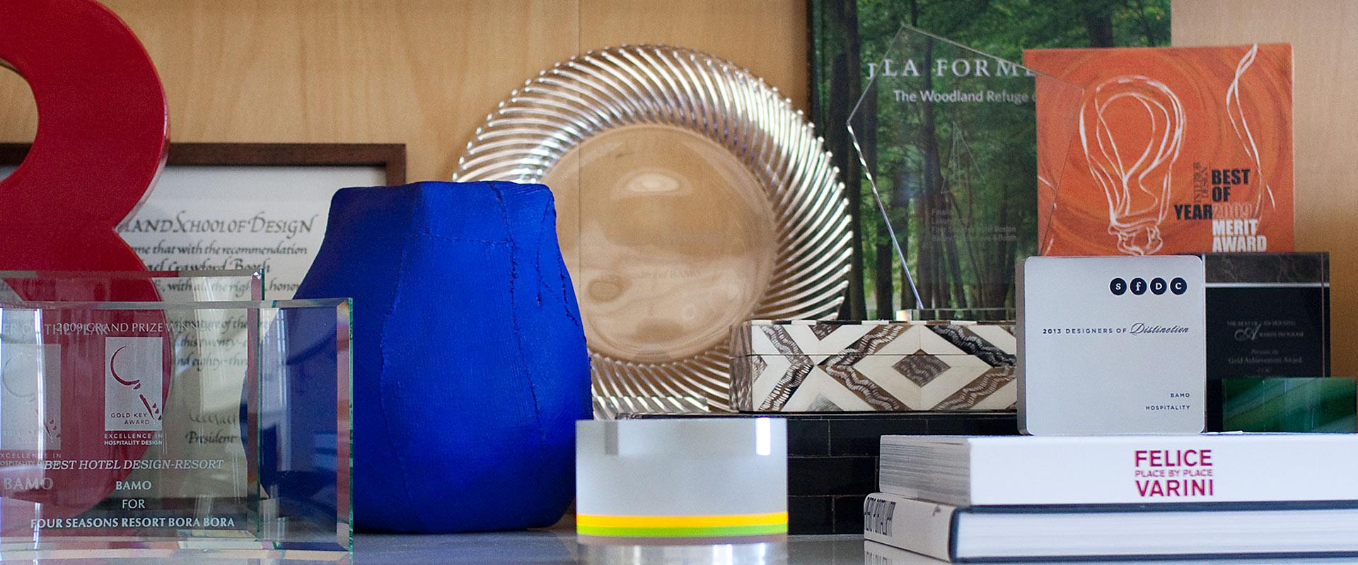 Awards - interior design by BAMO
