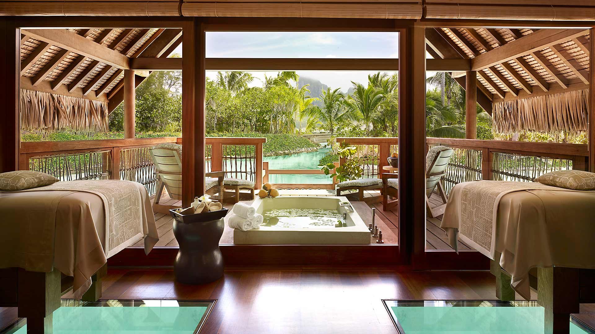 Four Seasons Bora Bora Spa Couples