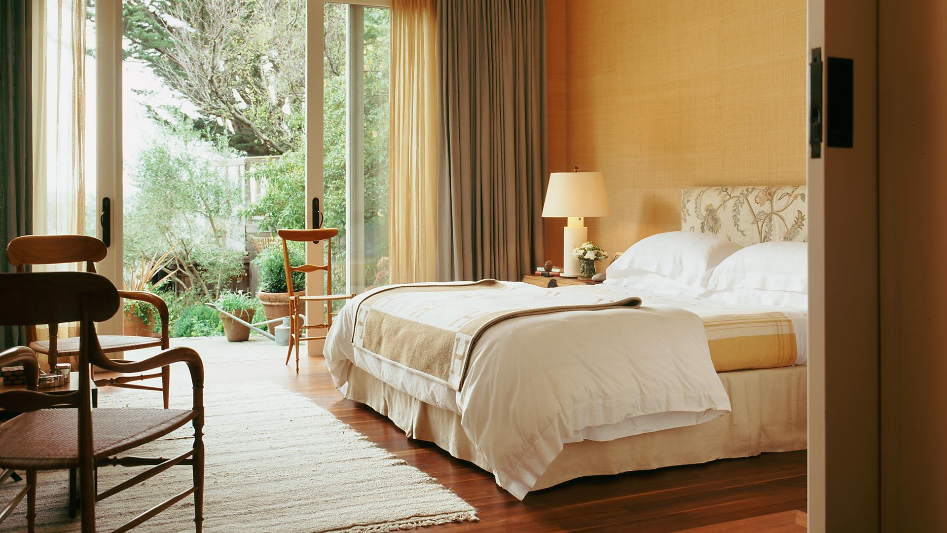 Cumberland San Francisco Master Bedroom - interior design by BAMO